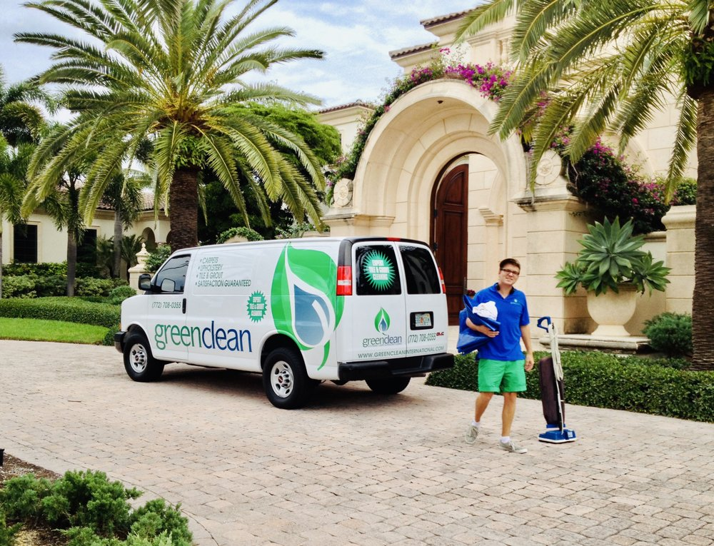 Green Clean Carpet, Tile & Upholstery Cleaning