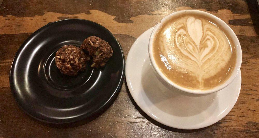 Five & Hoek Coffee: 114 N Main St, Wheaton, IL