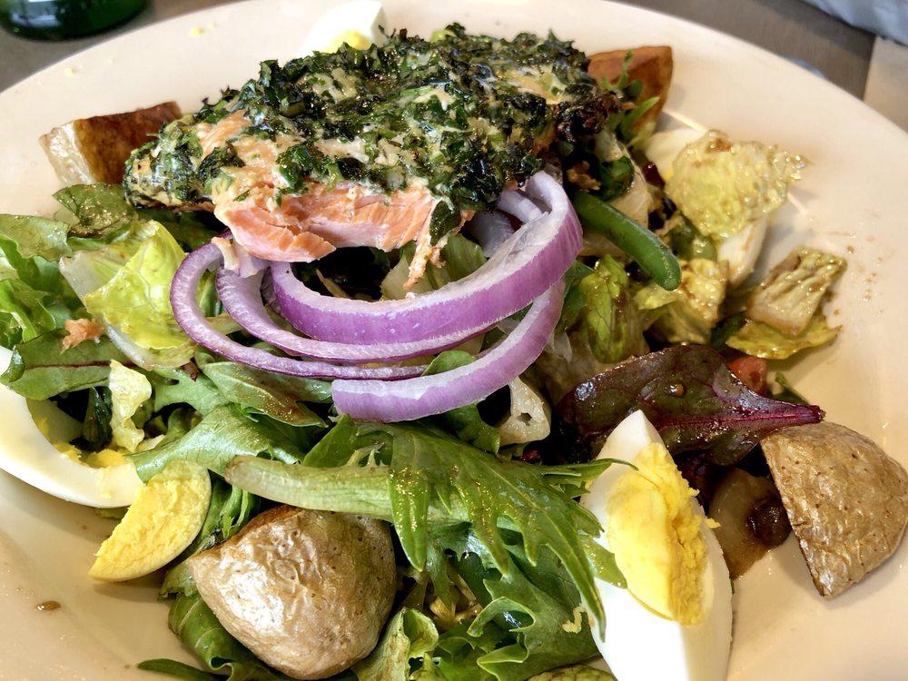 Delicious Salmon Nicoise Salad Bite Missing Yelp