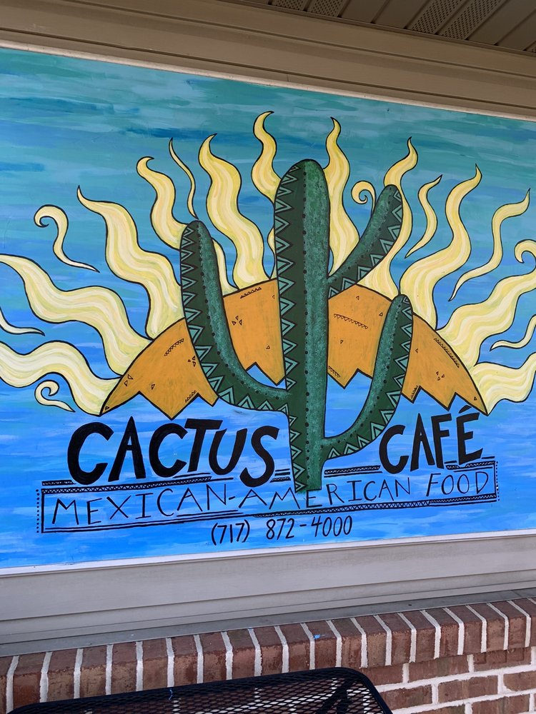 Food from Cactus Cafe