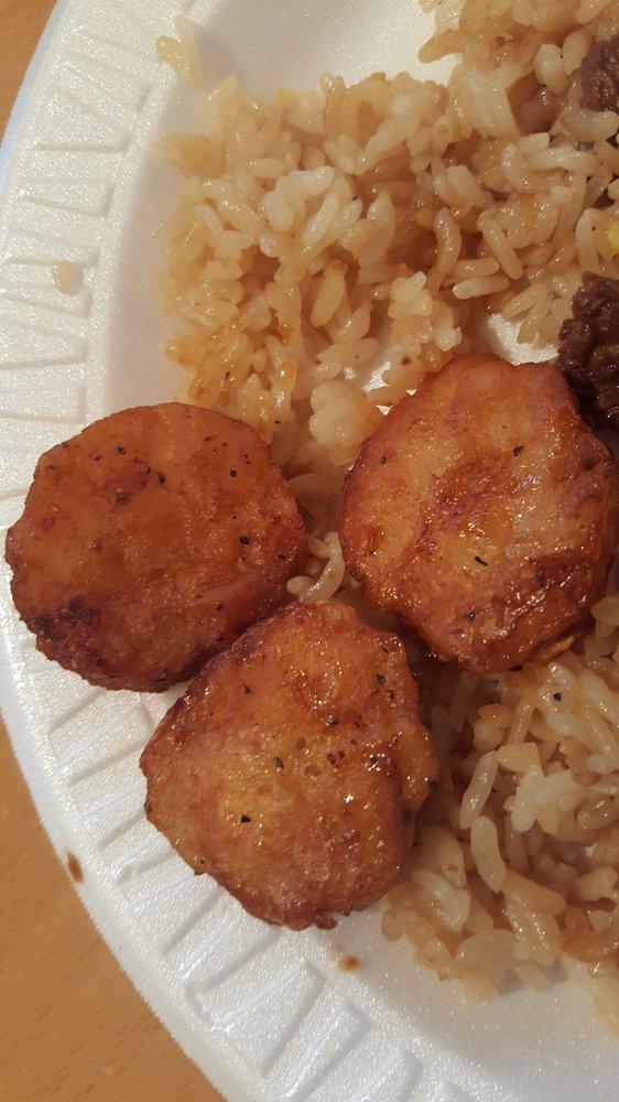 Food from KJ Hibachi