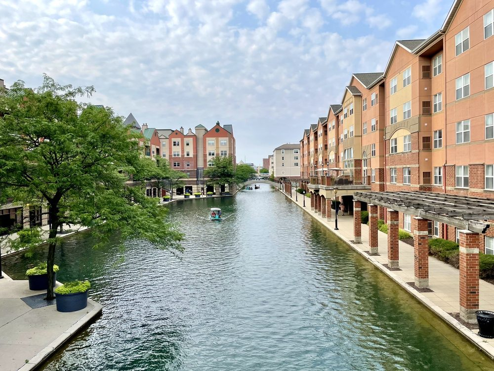 Indianapolis Canal Walk: 420 W Ohio St, Indianapolis, IN