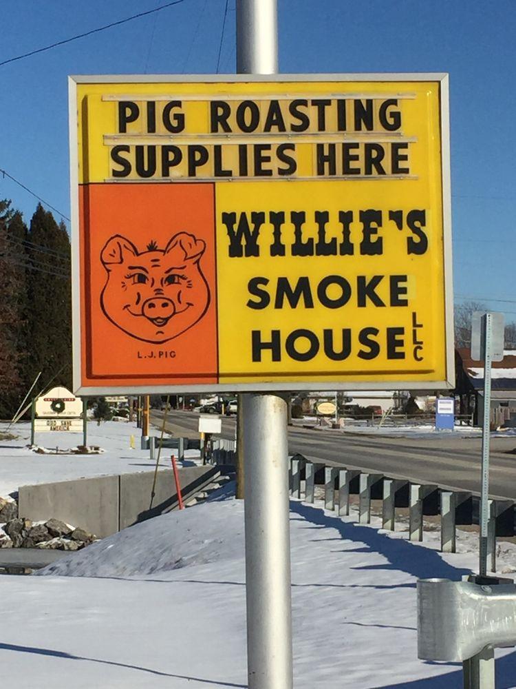 Willie's Smoke House: 562 S Main St, Harrisville, PA