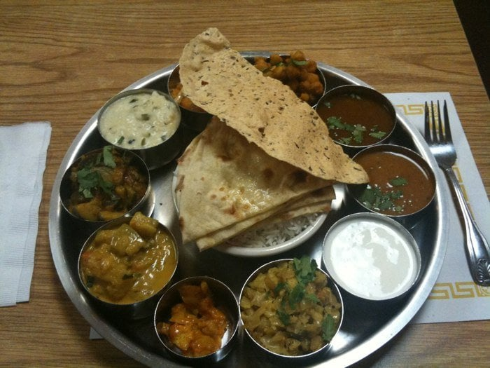 Mysore thali yelp for Angeethi indian cuisine