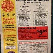 Charmant Menu Photo Of Peking Kitchen   Santa Ana, CA, United States. Menu