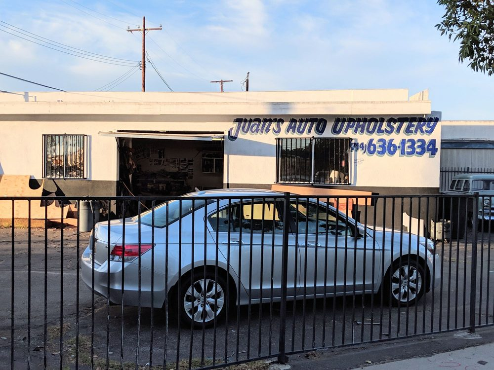 Juan's Auto Upholstery: 9941 Belfest Dr, Garden Grove, CA