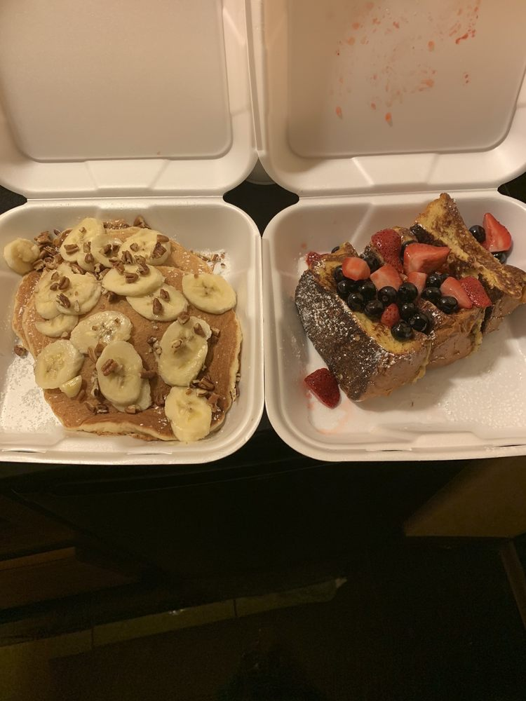Food from Lily's Cafe