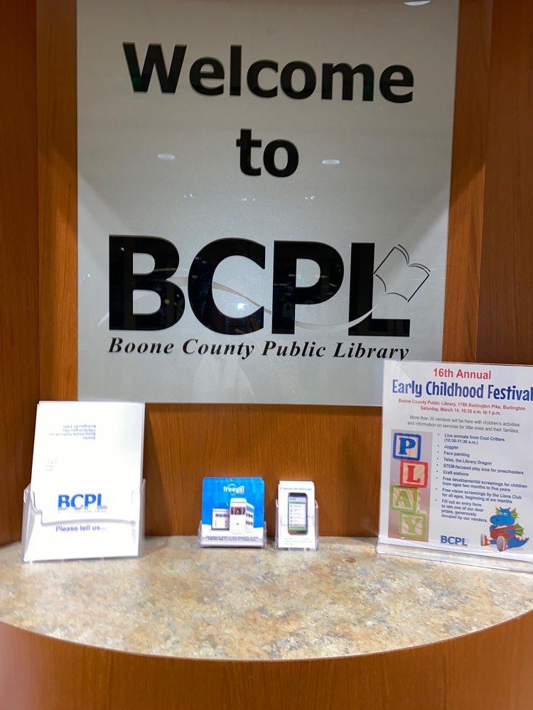 Boone County Public Library - Main Library: 1786 Burlington Pike, Burlington, KY