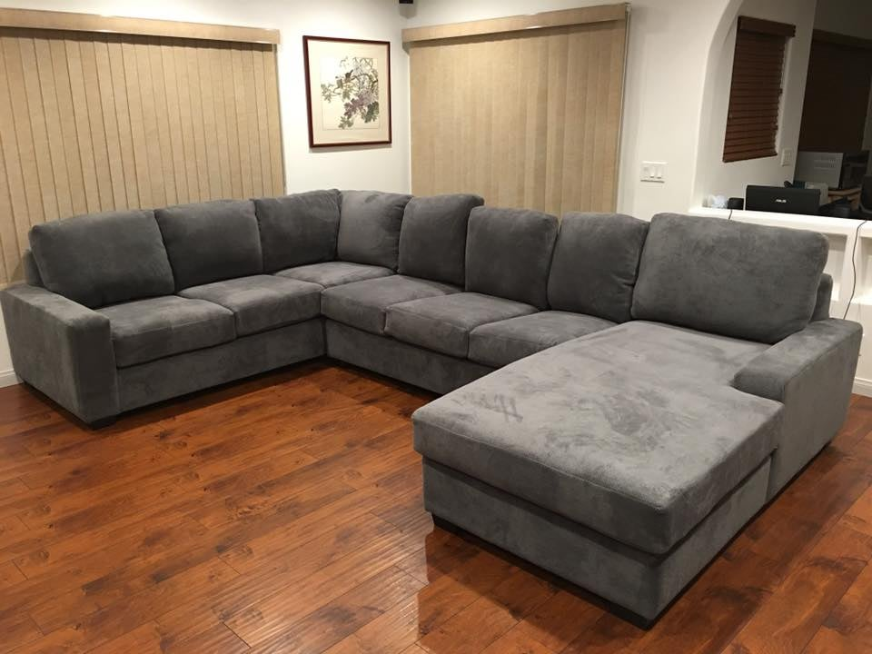 New Sectional Couch With An Added Chaise Deeper Seat