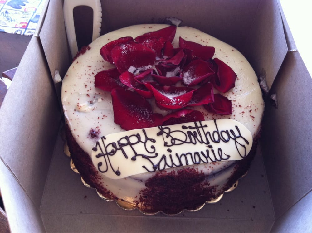 Red Velvet Cake From Portos Burbank Ca Yelp