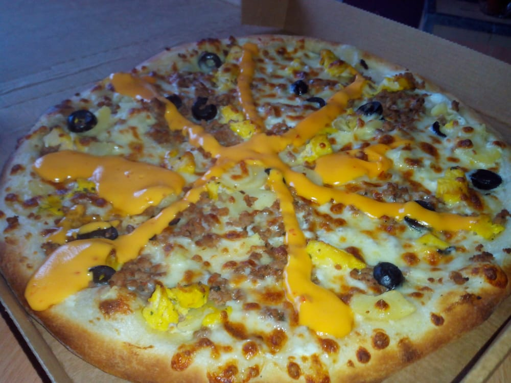 Pizza Tchiki Taille Super Crme Frache Fromage Chicken Chika