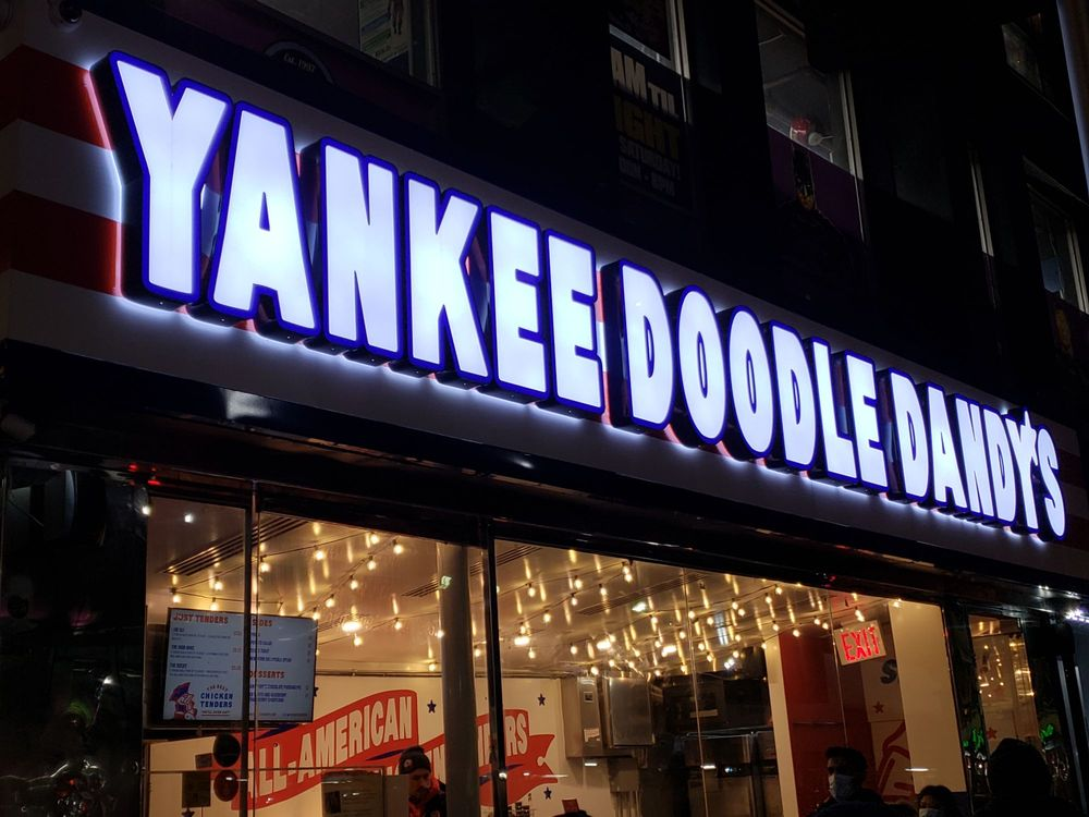 Yankee Doodle Dandy's: 200 W 40th St, New York, NY