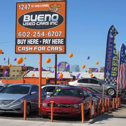 Used Cars Phoenix >> Bueno Used Cars Used Car Dealers 1247 E Van Buren St