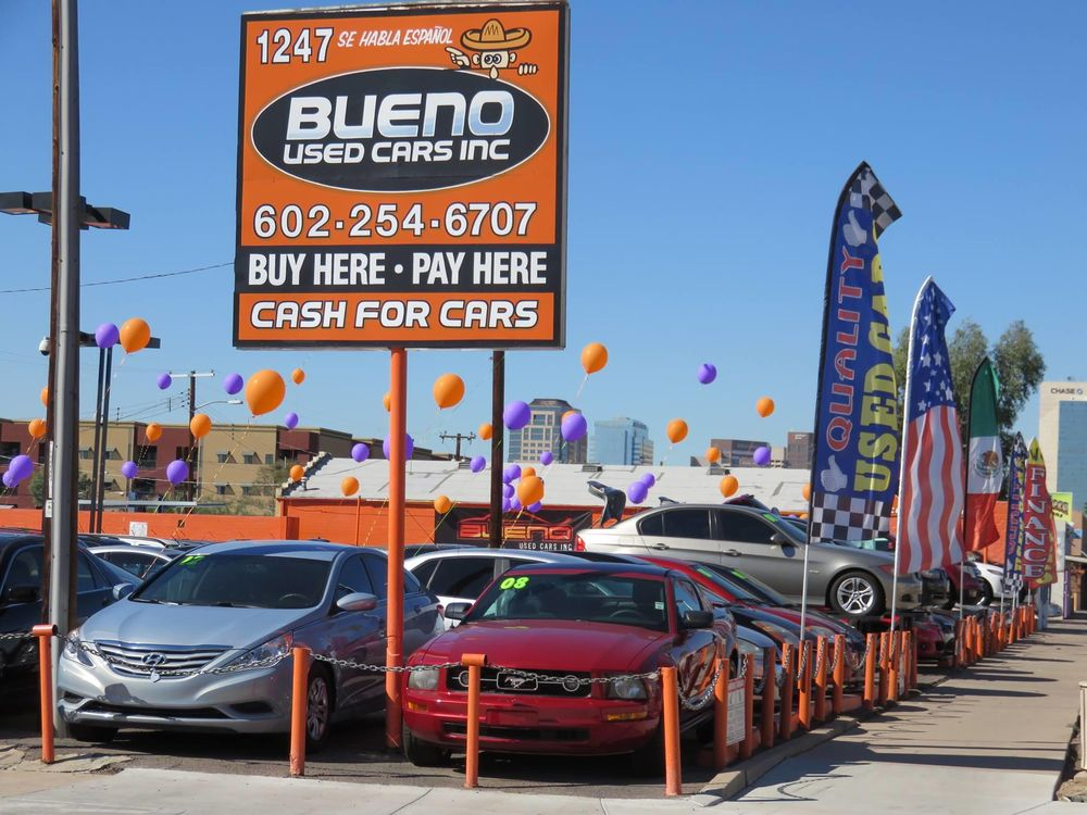 Bueno Used Cars - Used Car Dealers - Phoenix, AZ - 1247 E Van ...