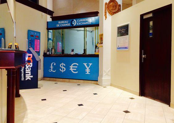 Ice international currency exchange bureau de change rue