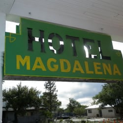 Photo Of Old Magdalena Hall Hotel Nm United States Sign