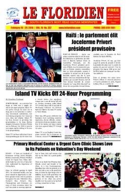 Photo For Florida Haitian Newspaper