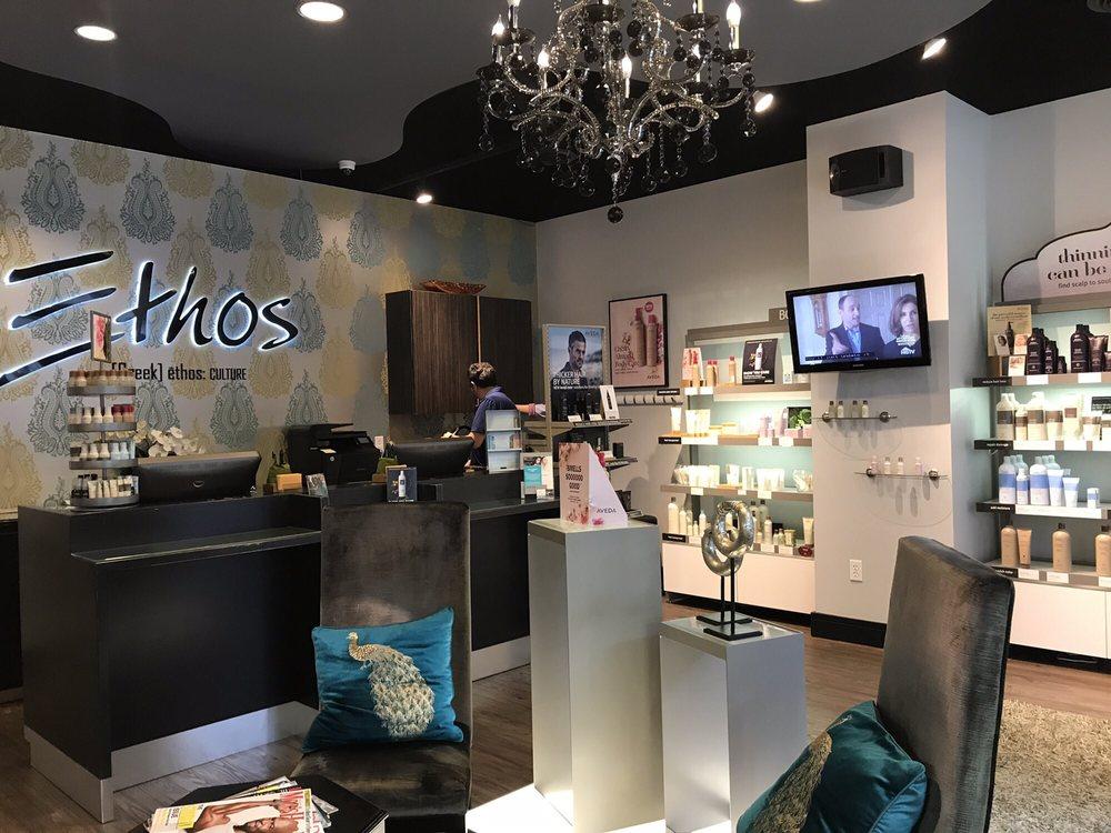 Ethos Aveda Salon: 173 Carondelet Plz, Clayton, MO