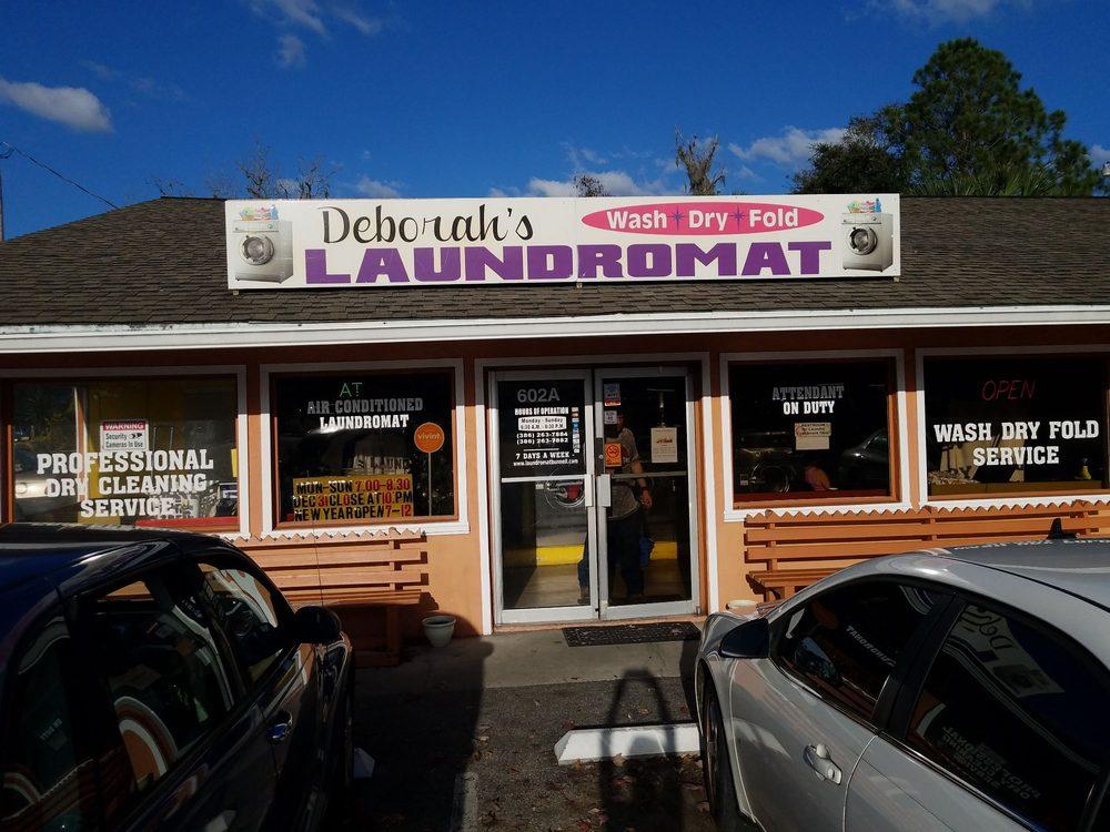 Deborah's Laundromat: 602 S State St, Bunnell, FL