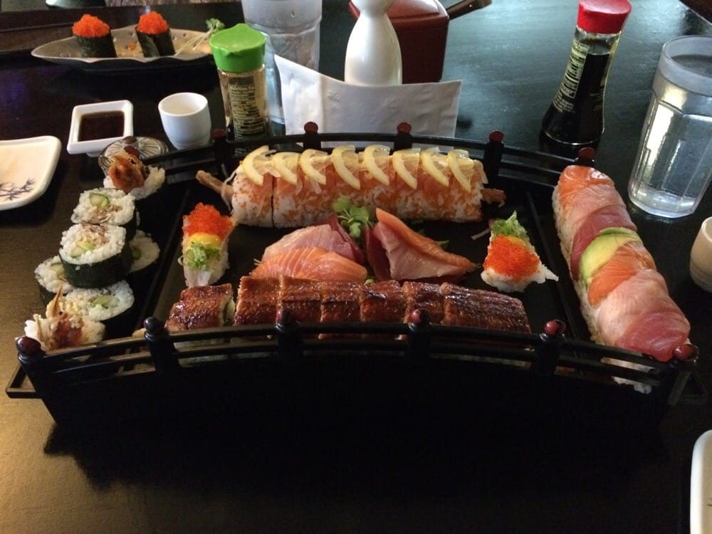 Love bridge for two omg we 39 re in heaven sorry blue fin for Asia sushi bar and asian cuisine mashpee