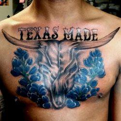 Cuz i can tattoos 16 photos piercing 600 w 28th st for Texas longhorn tattoo
