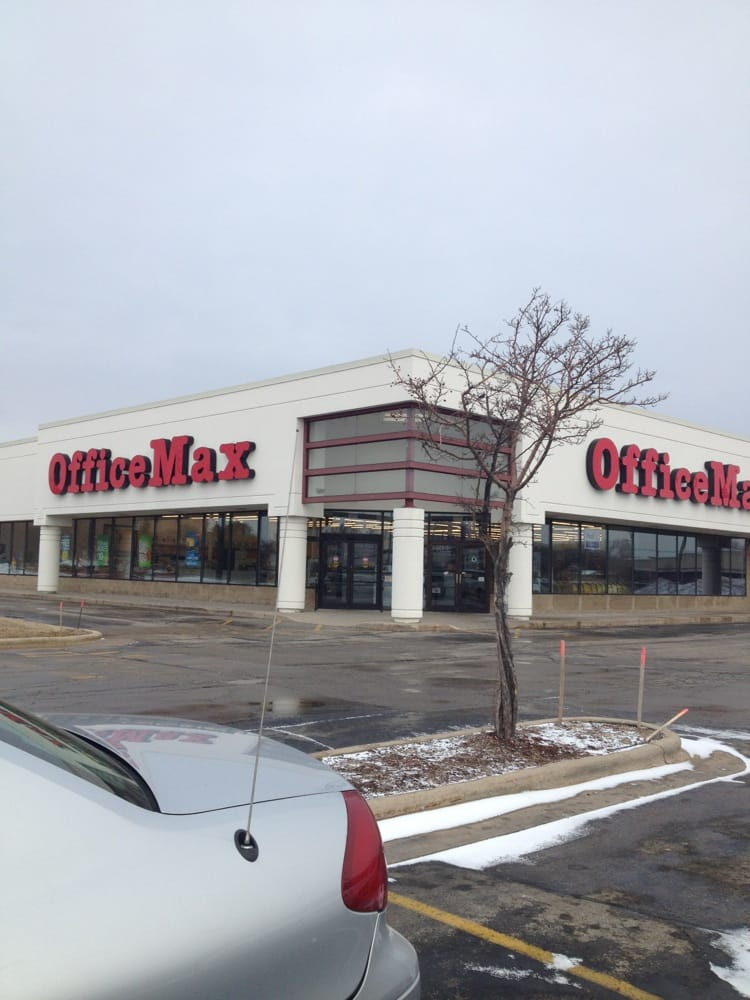 Officemax: 2817 S Oneida St, Green Bay, WI