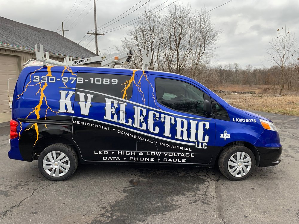 KV Electric: 409 W Park Ave, Niles, OH