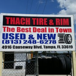 Used Tires Tampa >> Thach Used Tires Tires 4916 Causeway Blvd Tampa Fl