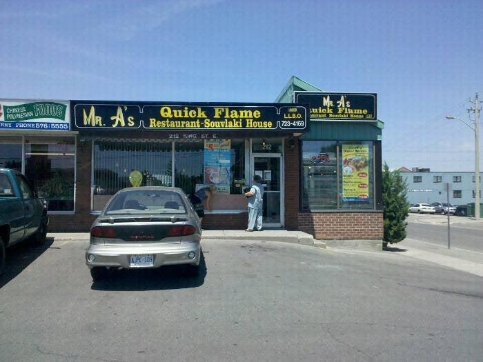 Mr A's Quick Flame Restaurant & Souvlaki