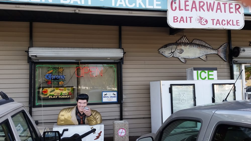Clearwater Bait & Tackle: 2999 Gulf To Bay Blvd, Clearwater, FL