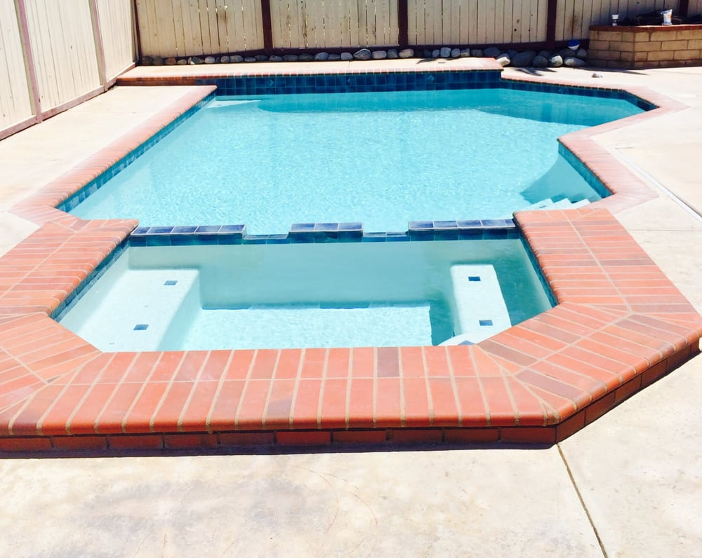 after pic corona remodel replaced broken coping new tile