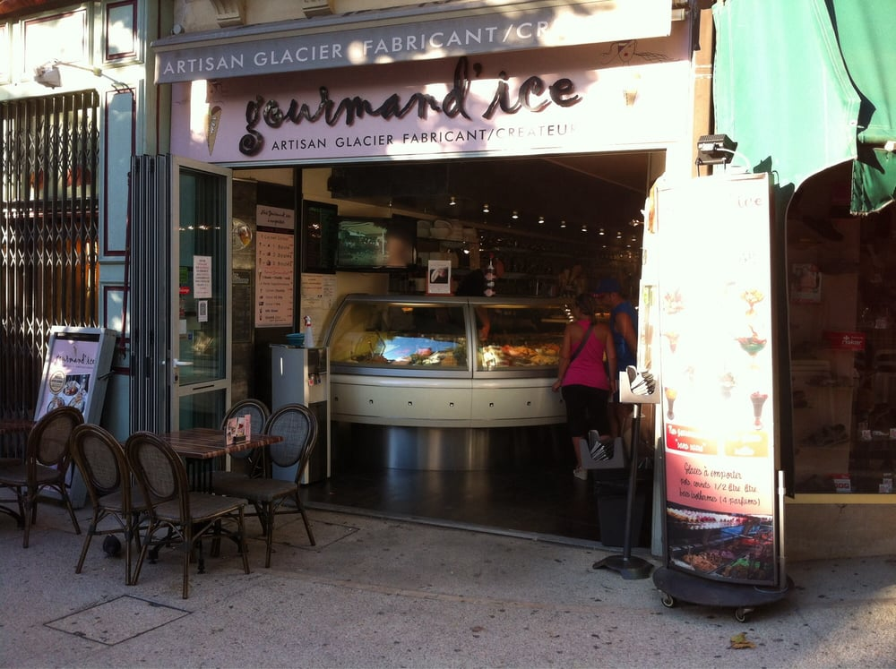 Gourmand ice ice cream frozen yogurt 1 place for Presto pizza salon de provence