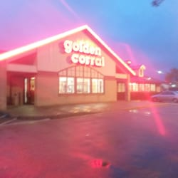 My first time dining at the Golden Corral in Newport News, VA was a pleasant experience. The food th ere seemed tastier than the food at other Golden Corral chains. It may have been the cooks; I don't know. The service was good and the atmosphere was friendly/5().