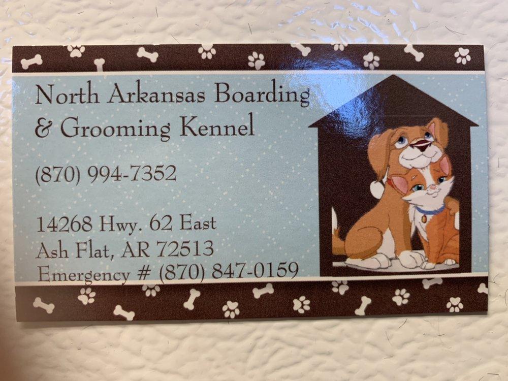 North Arkansas Boarding Kennel: 14268 Hwy 62 E, Ash Flat, AR