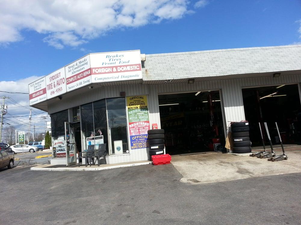 Syosset Tire & Auto Repair: 64 Jericho Tpke, Syosset, NY