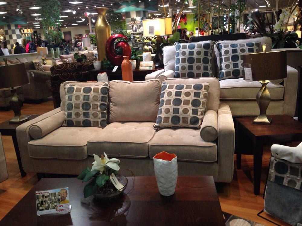 Great options for sofa sets and friendly sales reps in the