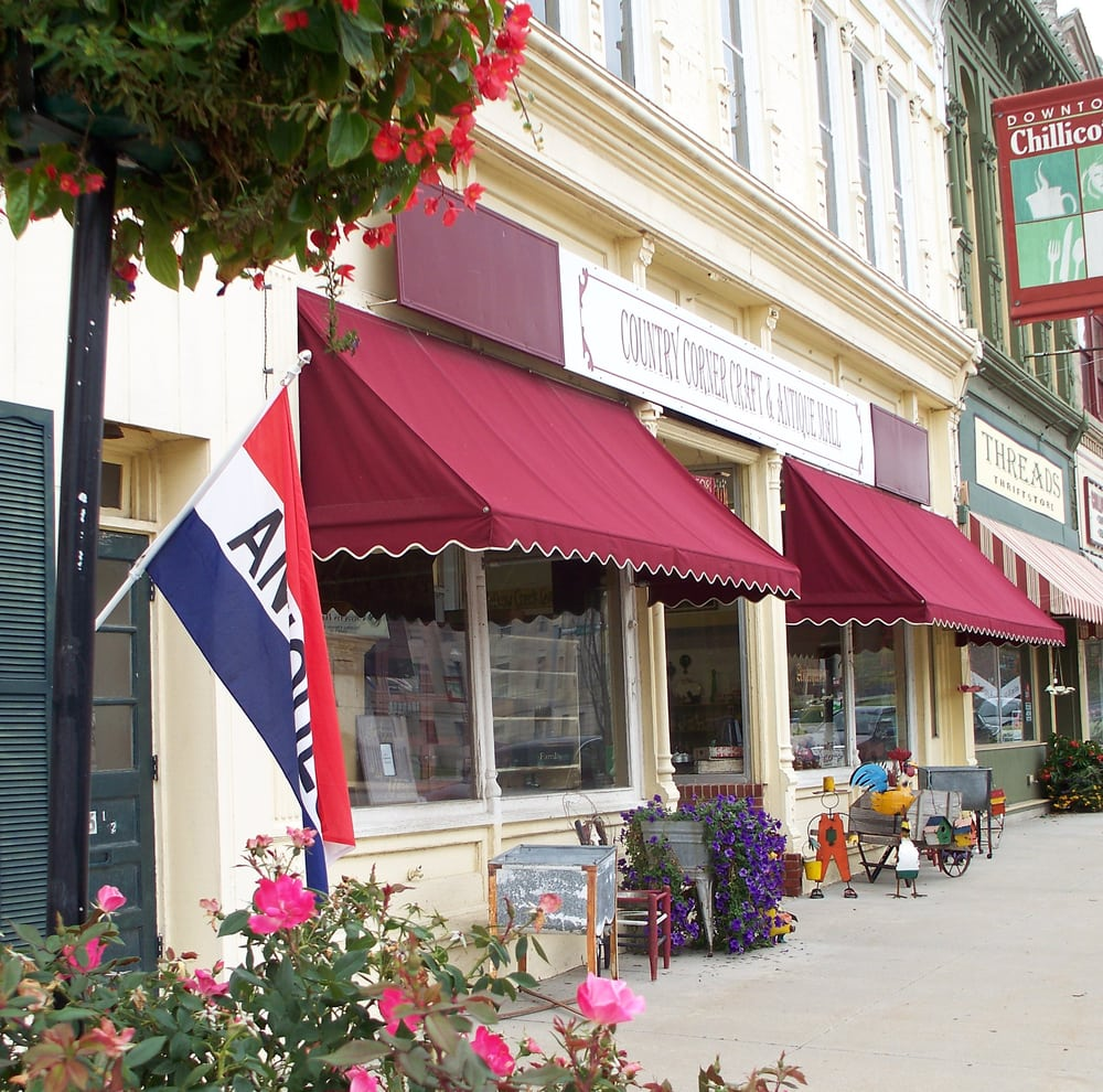 Country Corner Craft & Antique Mall: 508 N Washington St, Chillicothe, MO