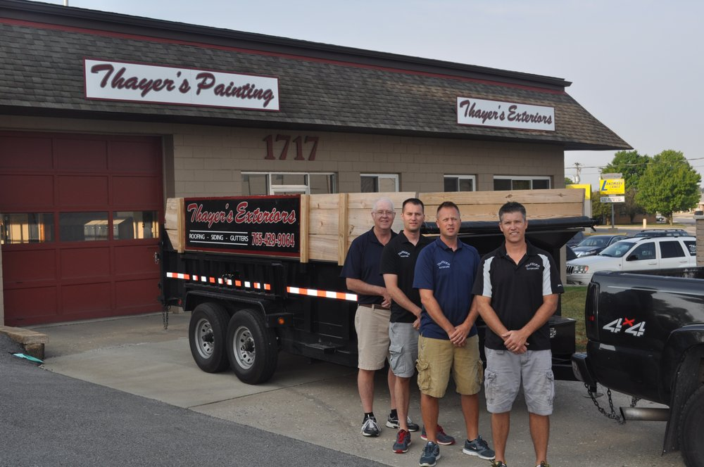 Thayer's Painting & Wallcovering: 1717 Schuyler Ave, Lafayette, IN