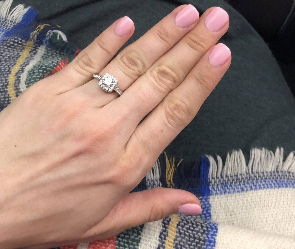 Dip powder manicure. My new favorite! Stronger than gel but not as ...