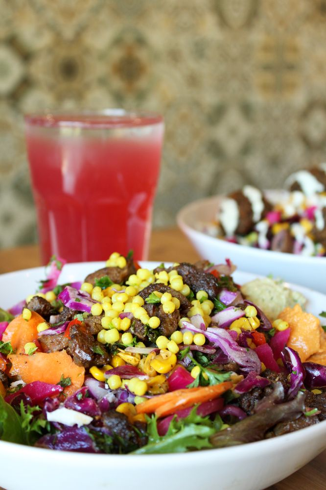 Food from Mezeh Mediterranean Grill - Blacksburg