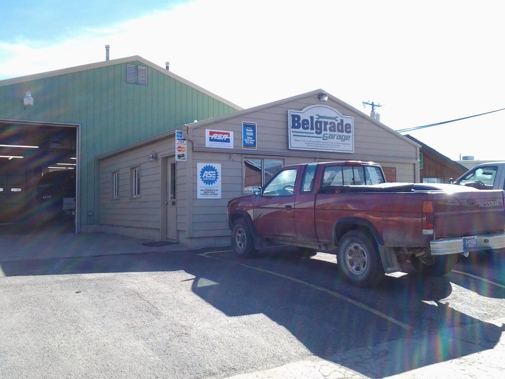 Belgrade Garage: 92 N Kennedy St, Belgrade, MT
