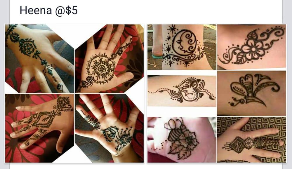 Henna Tattoo Chicago : Henna tattoo art to pamper your hand feet shoulder neck