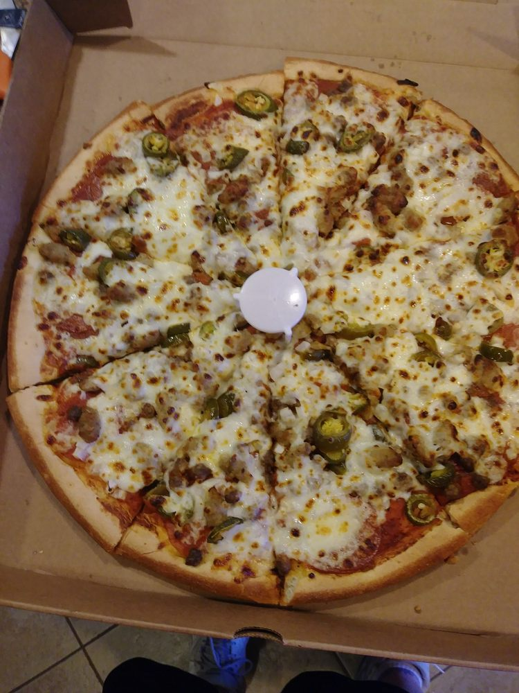 Godfather's Pizza: 5000 N Sunland Gin Rd, Eloy, AZ