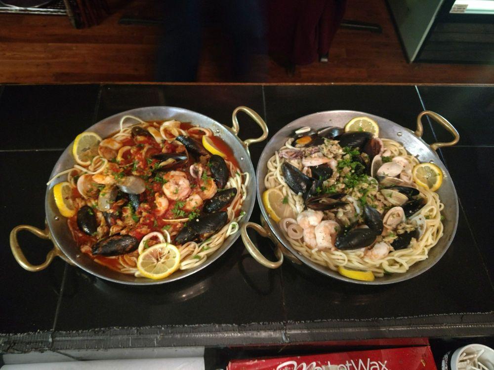 Food from Mancini's Italian Restaurant