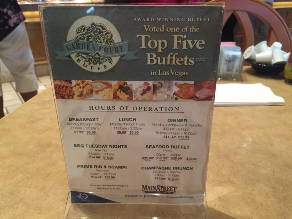 hours prices at the garden court buffet main street station yelp rh yelp com Main Street Station Buffet Coupon Green Valley Ranch Buffet