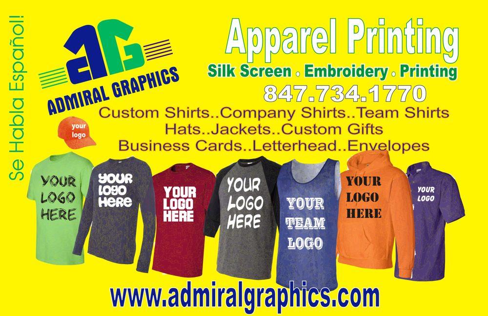 7504b0484 Admiral Graphics - CLOSED - Screen Printing/T-Shirt Printing - 547 W ...