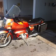 Photo Of Mikes Motorcycle
