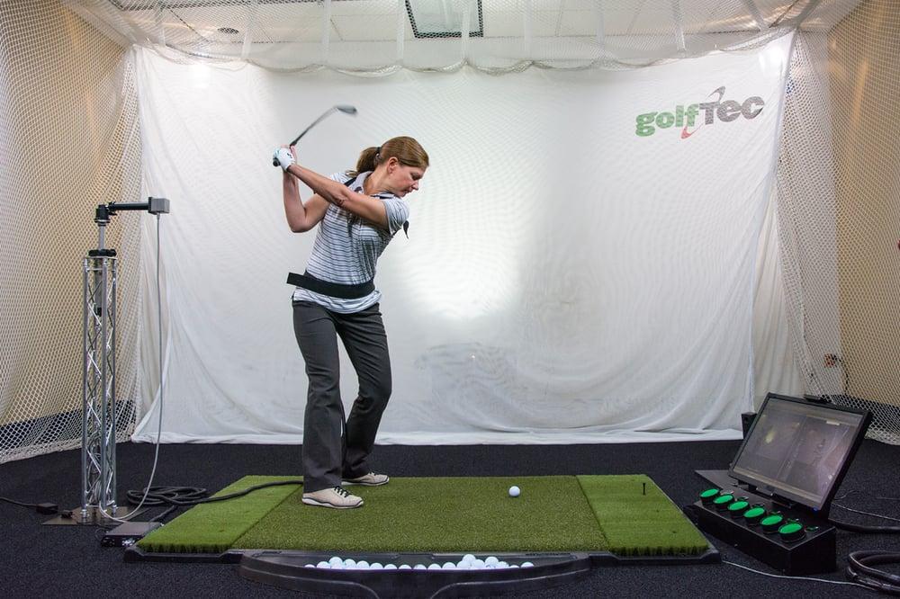 Indoor golf practice in Denver at GolfTEC Denver Tech Center - Yelp