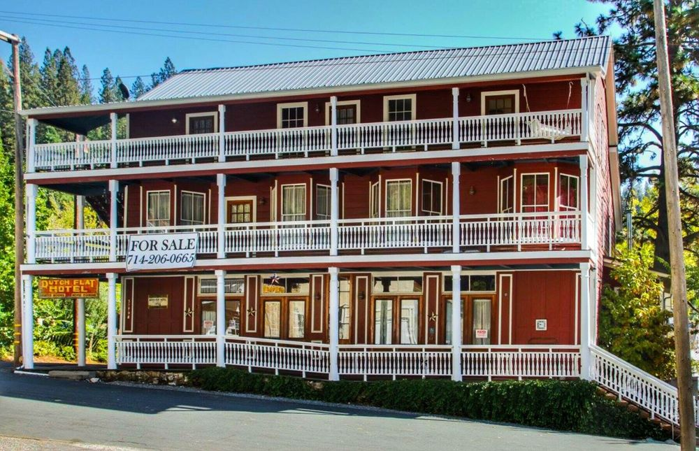Dutch Flat Hotel: 32798 Main St, Dutch Flat, CA
