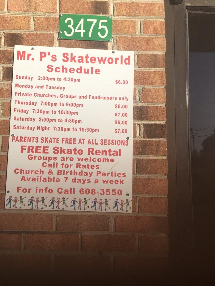 Mr P's Skateworld: 3495 Fayetteville Rd, Lumberton, NC